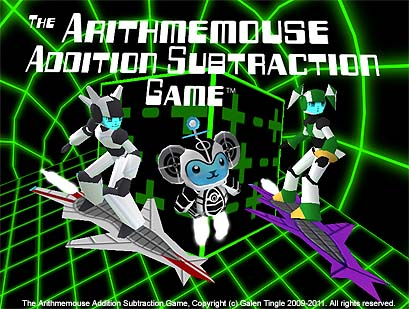 The Arithmemouse Addition Subtraction Game