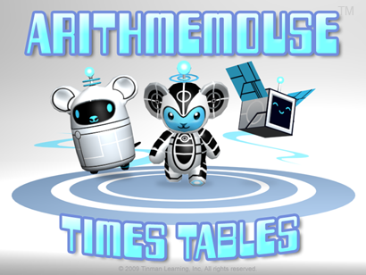 Arithmemouse Times Tables Multiplication Game