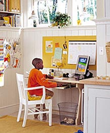 Child at Desk